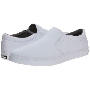 Cole Haan Famouth Slip on White Grandos Leather